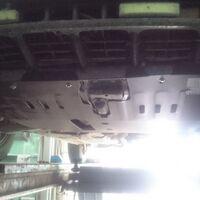 Защита двигателя на Toyota Corolla Levin