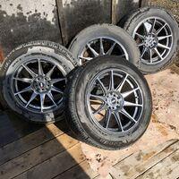 Комплект колес 225/60R17 XXR 527 HyperBlack
