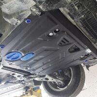 Защита двигателя на Toyota Corolla Rumion