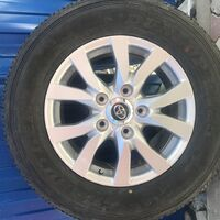 Колеса в сборе dunlop at25 grandtrek 285/60r18 , резина 20г,