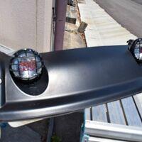 Оригинальная ламповая установка на крышу FJ Cruiser