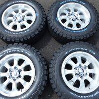 Колеса в сборе новые (грязь МТ) 265/65R17 Surf/Prado/FJ Cruiser