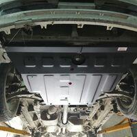 Защита двигателя на Nissan Bassara