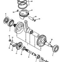 Поршень  Yamaha Wr450 YZ450F