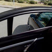 Каркасные шторки на Nissan