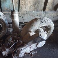 Мотор и колеса от китайца 139qmb