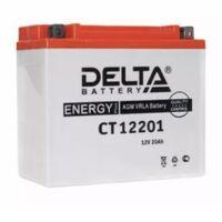 Аккумулятор для квадроцикл мото Delta AMG 20A