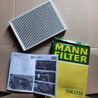 Фильтр салона (угольный) MANN CUK2733 для Land Rover