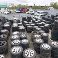Шины и диски Б/У из Японии для легковых и грузовых авто.Шиномонтаж.