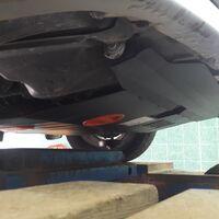 Защита двигателя на Subaru
