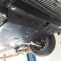 Защита двигателя на Hyundai Santa Fe