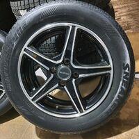 Диски R15 Bridgestone Balminum (полир.) 4х100 (+45). Без пробега по РФ