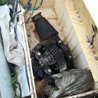 Редуктор от камаза и двигатель с коробкой