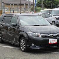 Клык переднего бампера, для Toyota Fielder NZE164 - 1 модель RH правый