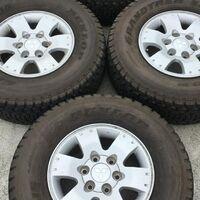 Диски литые оригинал бу Mitsubishi Japan R16 6×139,7 7j +46.