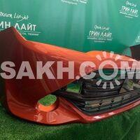 Передний бампер Axio/Fielder NZE161 / NZE164 цвет оранжевый