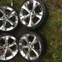 Комплект колёс r19 Weeds Kranze