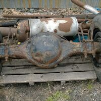"""Продам задний мост, радиатор,  для  """"nissan diesel"""", FE6 6925 см,"""