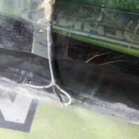 Стекло лобовое Nissan Presage TNU31 перед. (б/у)