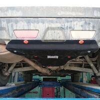 Защита заднего бампера на Nissan X-Trail NT31
