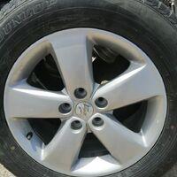 Диски литые оригинал Suzuki Enkei c рынка Japan R17 5×114,3 6,5j +45.