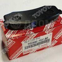 Задние тормозные  колодки  Toyota Prado 80/90/105/120/78/150