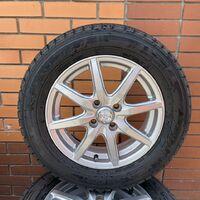 Резина Goodyear 185/65R15 на литых дисках. Без пробега по РФ.