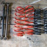 Пружины +2 Prado 95, surf 185 и задние тяги