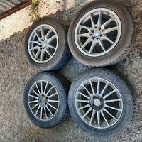 Продам комплект разнопарных колёс