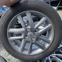 Резина Bridgestone 185/65R15 на литье Toyota. Без пробега по РФ.
