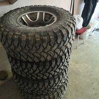 Продам грязевые колеса comforser cf3000, диски lenso