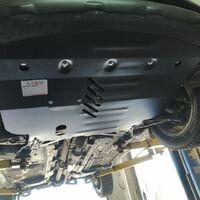Защита двигателя на Toyota Fielder (2012-2018)