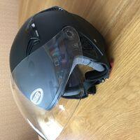 Открытый шлем gsb-240 black matt.