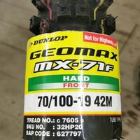 Dunlop mx 71 70/100/19