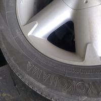 Б/у шины и диски, 3 штуки