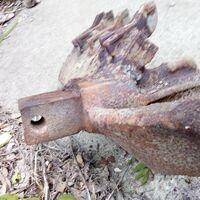 Буровая головка для ямобура