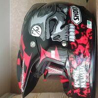 Шлем shoei v-moto metal mulisha 2 tc1