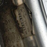 Диски литые Work бу Япония с рынка Japan R17 5×114,3 7J +49.