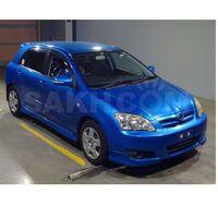 передний бампер в сборе с клыками Allex / Corolla Runx NZE124 2004-06