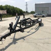 Прицеп для катера от 6,5-8,0м производства США, зарегестрирован в ГИБД