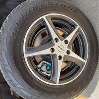 Диски с резиной на Mitsubishi Outlander 215/70R16