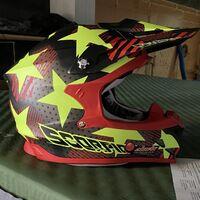Шлем для мотокросса и эндуро