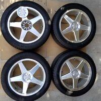 Комплект колес 235/50/18 5/100x114.3