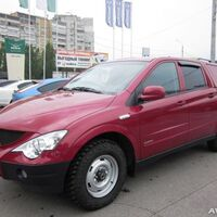 Кунги на SsangYong Actyon Sports