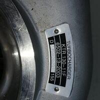 Турбокомпрессор Komatsu KTR130-11F 6502-13-2003