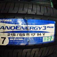 Шины 215/55/17 Toyo Nanoenergy 3+, новые, Japan