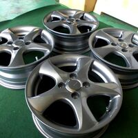 Диски R14 Bridgestone Toprun (графит) 4х100 (+39). Без пробега по РФ