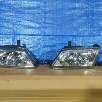 Фара Nissan AD/Wingroad Y11 99-05 год хрусталь стекло левая+правая