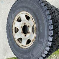 30x9.50r15lt. Dunlop япония + штамповки 6/139.7