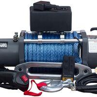 Лебедка электрическая 12v maxpower 12000lbs / 5443 кг